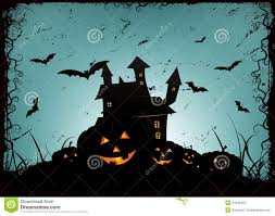 halloween haunted house background halloween frame background stock photos image 34220463