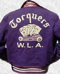 some nice examples of vintage motorcycle racing sweaters from a