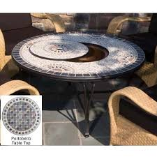 Alfresco Home Outdoor Furniture alfresco home portobello outdoor lounge table with fire pit and