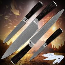 laser kitchen knives cooking tools stainless steel fruit utility slicing chef kitchen