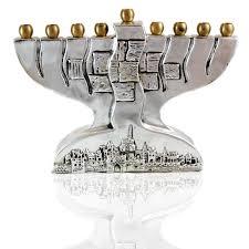 jerusalem menorah jerusalem menorah hanukkah sterling silver l judaicabuy
