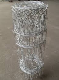 wire border fence arched top weaving ornamental border fence