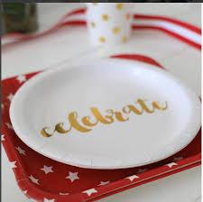 celebrate plate sambellina gold foil celebrate cake plates bickiboo designs