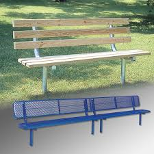 Bench 8 Permanent Park Benches Draper Inc