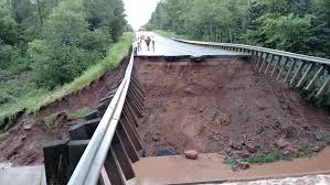 Wisconsin Road Conditions Map by Northwestern Wisconsin Flooding 2016