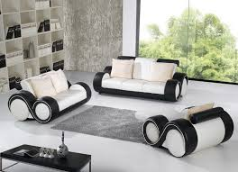 black and white leather sofa set with regard to new property chair