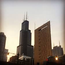 willis tower chicago willis tower is next to a maximum security prison in chicago pics