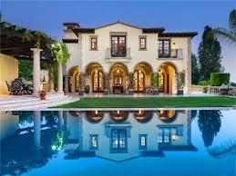 gated italian villa in beverly hills california i like the stone