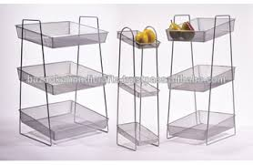 fruit basket stand metal wire fruit basket stand fruit stand metal counter display