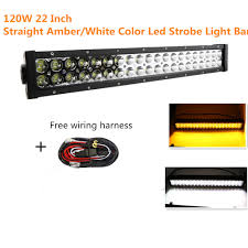 Off Road Led Light Bar For Trucks by Straight 120w 22