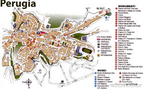 map of perugia umbria jazz festival 2014 festival archive