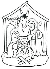 printable coloring pages nativity scenes colouring pages of the nativity scene nativity colouring page school