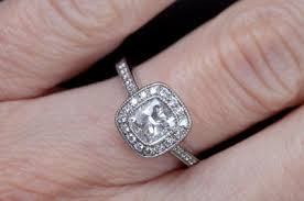 vintage cushion cut engagement rings guide to cushion cut engagement rings lovetoknow