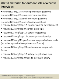 Resume Samples For Sales Executive by Top 8 Outdoor Sales Executive Resume Samples