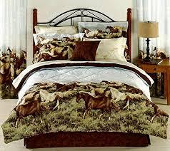 Rustic Comforter Sets 13 Beautiful Horse Print Bedding Sets
