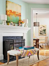 add color without paint trim work moldings and fireplace design