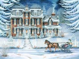 day pretty trees december house happy snow amazing winter holidays
