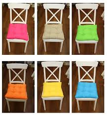 new colourful seat pad dining room garden kitchen chair cushions
