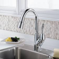 allora kitchen faucet delta allora single handle bar faucet with pull out spray
