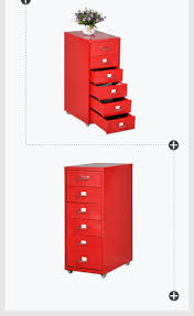 Stilford Filing Cabinet Stilford Drawer Filing Cabinet Red Officeworks Outstanding Photos