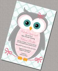 owl baby shower owl themed baby shower invitation theruntime