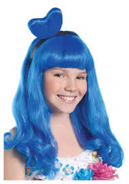 halloween costumes wigs photo album california blue candy