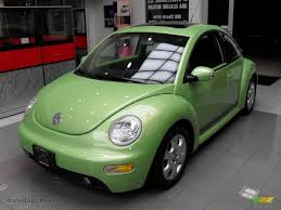 volkswagen beetle green 2003 volkswagen new beetle gls coupe in cyber green metallic