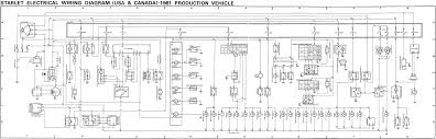 toyota starlet wiring diagram ideas electrical circuit