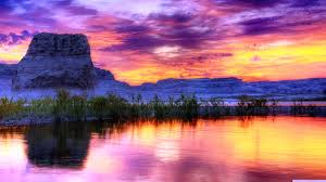 Arizona lakes images Lakes beautiful arizona lake forces nature sunset big rocks jpg