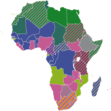 French Language Countries - file official languages in africa svg wikimedia commons