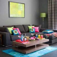 Living Room Ideas With Grey Sofa by Home Decorating Trends Pink And Green Purple Couch Purple