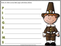 my thanksgiving story reading comprehesion sentence building