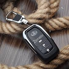 lexus key case luxury real leather keyless smart entry remote key case cover