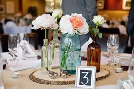jar centerpieces for weddings wedding centerpiece with blue jarwedwebtalks wedwebtalks