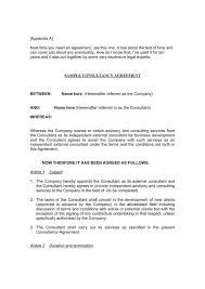 sample consulting agreement canada consulting agreement