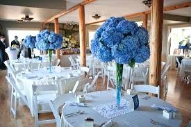 blue wedding blue centerpieces for wedding tables fijc info