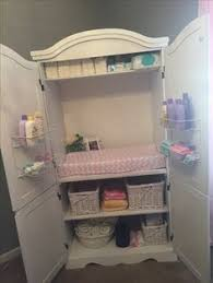 updated armoire to changing table made it pinterest change