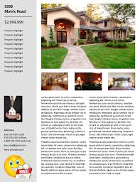real estate flyers templates free real estate flyer templates 29doors