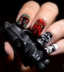 star wars nail art nails magazine nails pinterest star