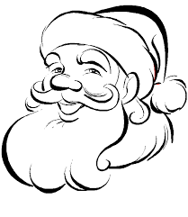 santa claus coloring pages for christmas u2014 allmadecine weddings