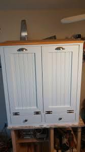 Kitchen Cabinet Trash Can Double Trash Bin Cabinet Roselawnlutheran