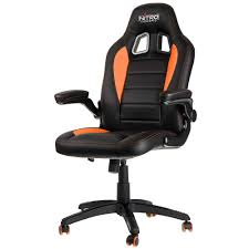 nitro concepts c80 motion gaming stuhl schwarz orange