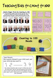 teaching kids to count to 100 heidi songs