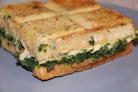 tablette pour recette de cuisine croque tablette au fromage épinards et tomates feuilleté comtois