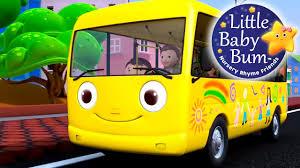 si e auto babybus wheels on the part 1 nursery rhymes from littlebabybum