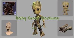 groot costume groot costume mask jacket and merchandise