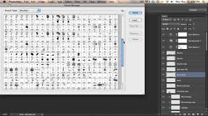 how to add and organize brushes in photoshop cs6 youtube