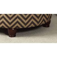 homepop large round storage ottoman free shipping today