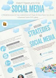 social media brochure template 40 high quality brochure design templates web graphic design