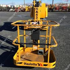 haulotte ha43je démo cisolift distribution inc